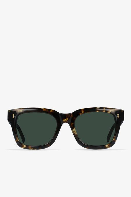 Raen Optics Gilman sunglasses in brindle tortoise