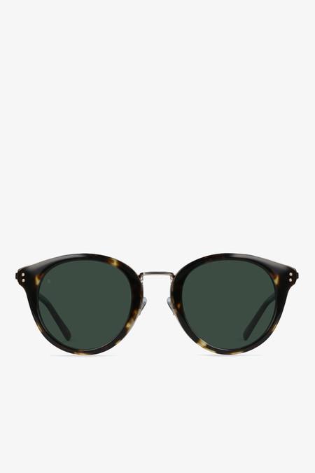 Raen Optics Potrero sunglasses in brindle tortoise