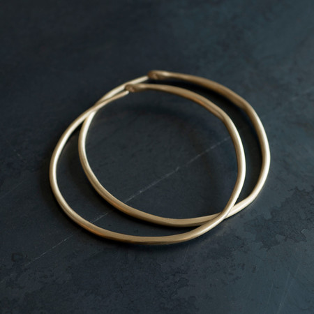 Etten Eller 03.31.1854 Skinny Brass Bangle Set