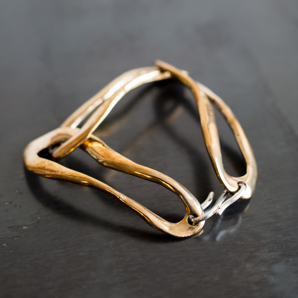 Faris Link Bracelet Bronze