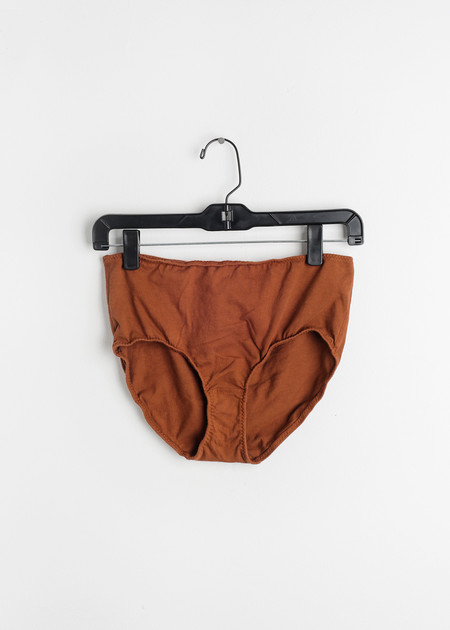 Pansy Rust High Rise Underwear