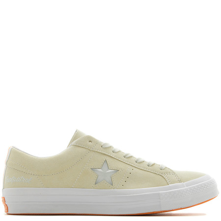 CONVERSE GOLD STAR X FOOTPATROL ONE STAR - VANILLA CUSTARD