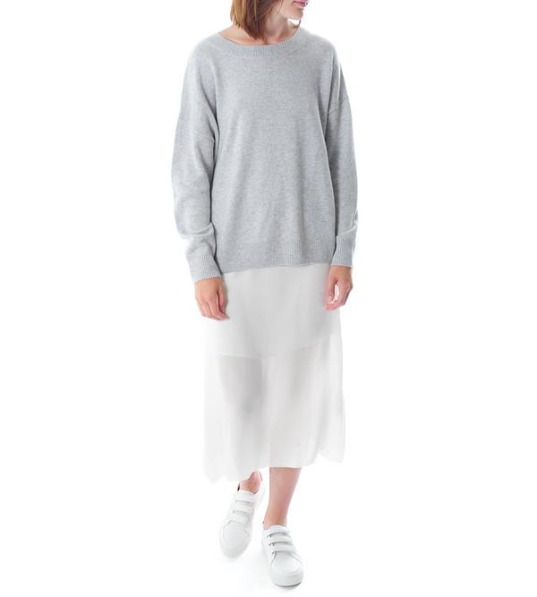 FRAME Denim Le Boyfriend Sweater | Gray