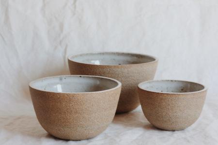 Julie Cloutier Ceramic Nesting Bowls