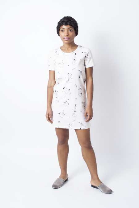 Rachel Antonoff Fitz T-Shirt Dress
