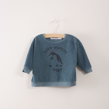 Kid's Bobo Choses Keep Waters Tidy Baby Sweatshirt