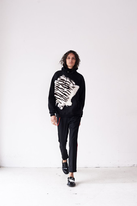 Assembly New York Fur Hoodie