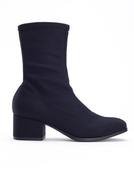 Vagabond Daisy Stretch Boot Black