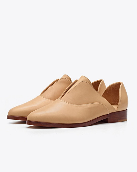 Nisolo Emma d'Orsay Oxford - Beige