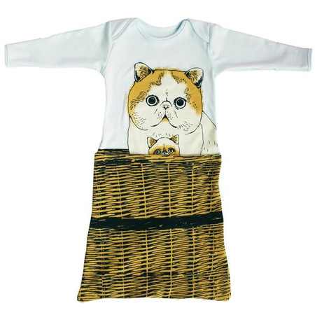 Kid's Electrik Kidz PomPom Kitty Pocket Gown
