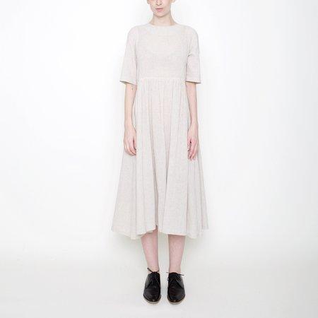 7115 by Szeki Linen Play Dress - Beige