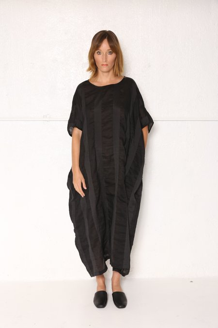 Intentionally Blank BETH CAFTAN in BLACK