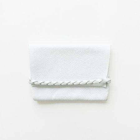 ARA Handbags White Smalls Fold Over Clutch