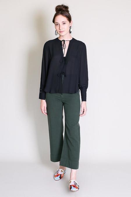 Rachel Comey Meryl blouse in black