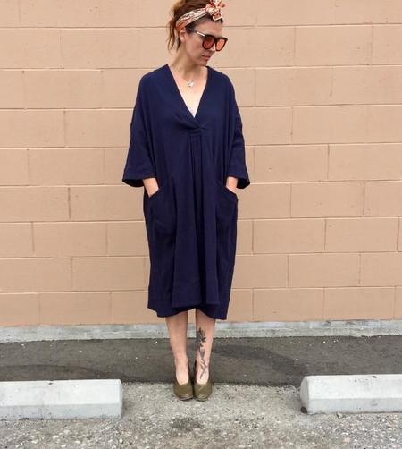 Sunja Link Patch Pocket Pullover Dress