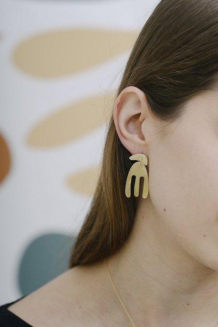 Seaworthy Ruby Earrings
