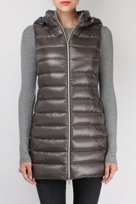Herno Long Fitted Down Vest