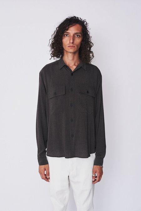 Assembly New York Poet Shirt - Grey