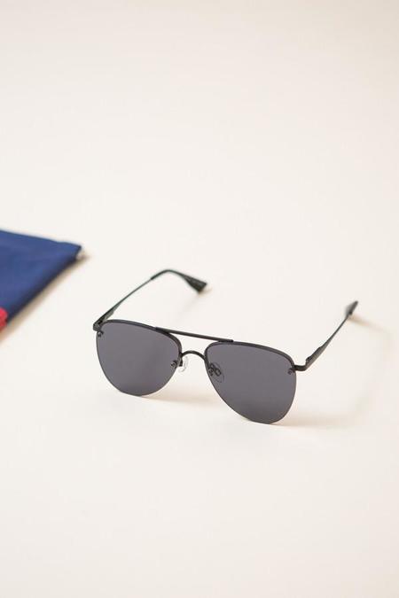 Le Specs The Prince Sunglasses / Matte Black