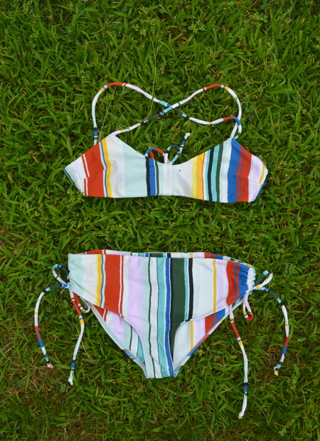 Reef Bikini in Serepe Stripe