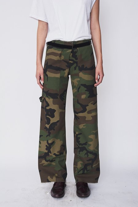 Assembly New York Camo Simple Pant