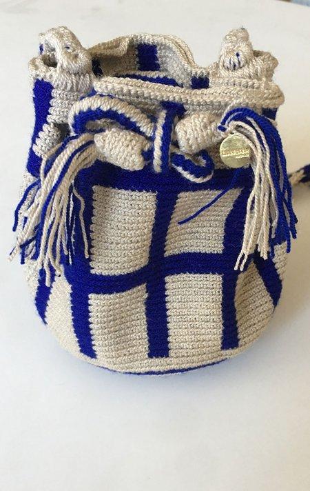 Guanabana woven mini bag