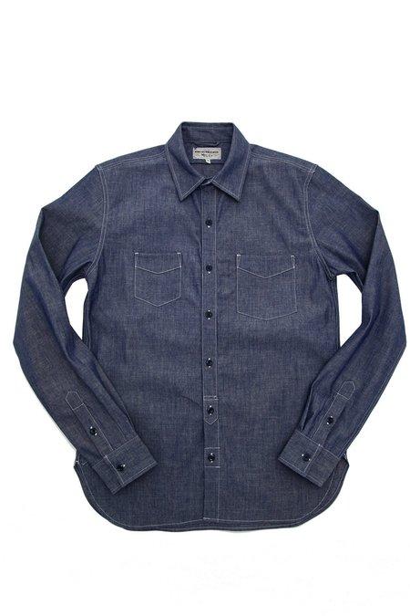 Knickerbocker Long Sleeve Service Shirt - Indigo