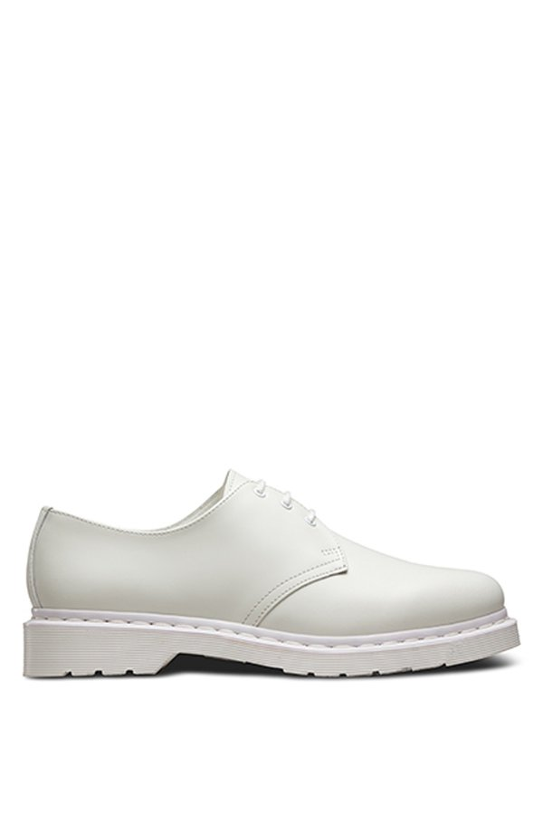 Unisex Dr. Martens Leather 1461 Lace-up Oxford - White