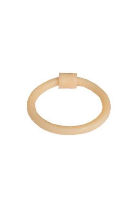 Surface Handmade Cylinder Bracelet - Bone