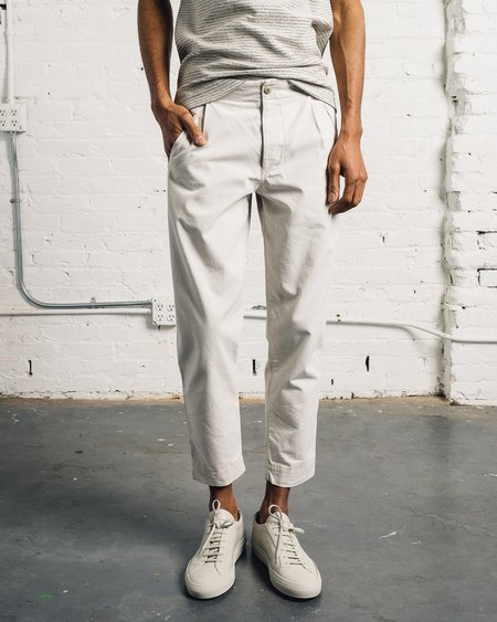 Folk Assembly Pant - Light Stone