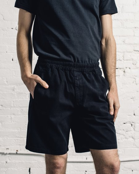 Folk Assembly Short - Off Black