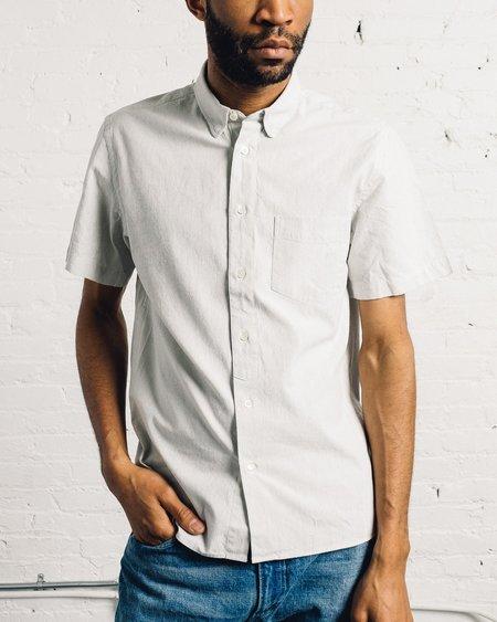 La Paz Ribeiro White/Blue Rain Shirt