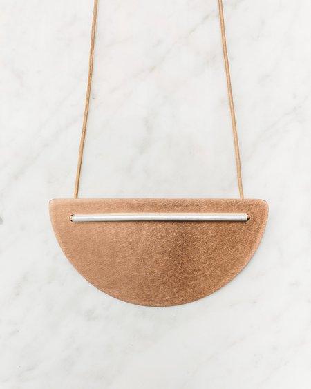 L&G Studios Half Circle Necklace