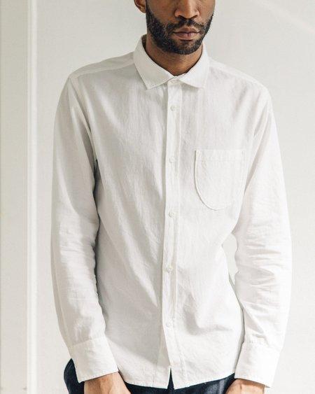 Universal Works White Classic Shirt