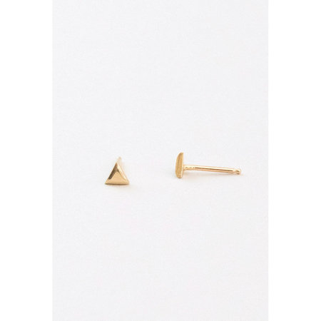Marisa Mason Jewelry Small Triangle Stud Earrings