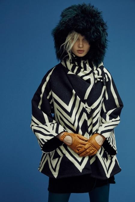 Lindsey Thornburg + Pendleton Skywalker Trench Cloak