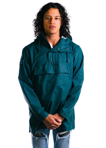 Unisex Rains Camp Anorak - Dark Teal