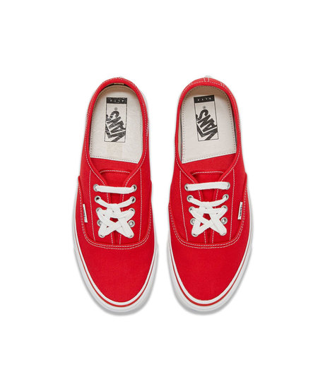 VANS OG Style 43 Authentic Fold Down Sneakers - True Red