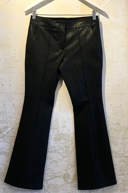 A.L.C. 'Evan' Leather Flared Pant