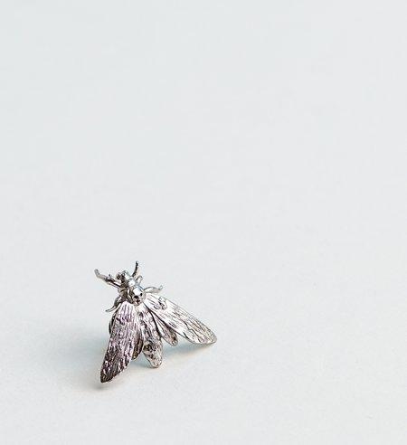 OAMC Silver Moth Pin
