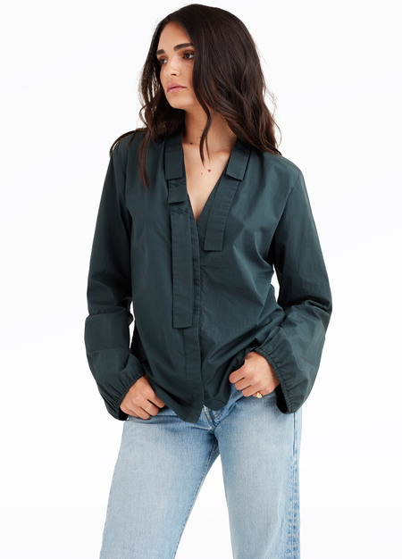 elborne Vintage Gucci by Tom Ford cotton blouse