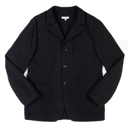 Engineered Garments Bedford Jacket—Black 7.5 oz. Slub Denim