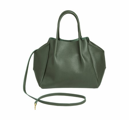 Oliveve zoe tote in rosy pebble cow leather