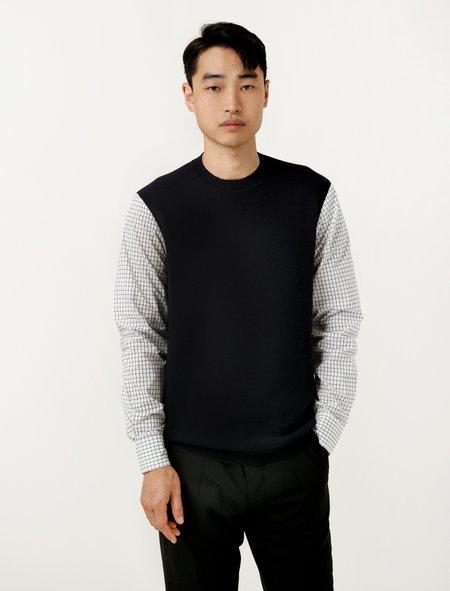 Marni Sweater - Navy Squared Combo