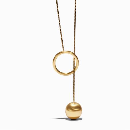Ming Yu Wang Cronian Pendant - Brass