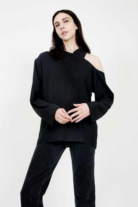 Nomia Asymmetric Cutout Top