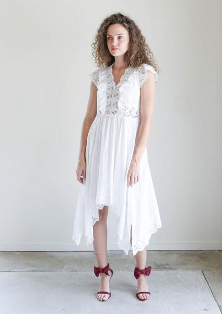 Ulla Johnson Lavinia Dress in Blanc