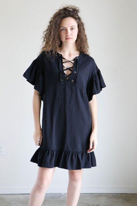 Ulla Johnson Marianne Dress in Noir