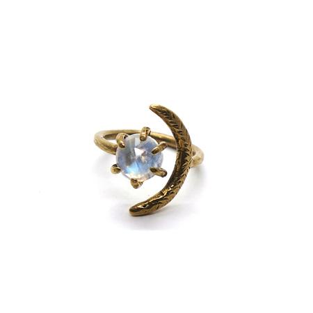 Laurel Hill Jewelry Io Ring - Moonstone