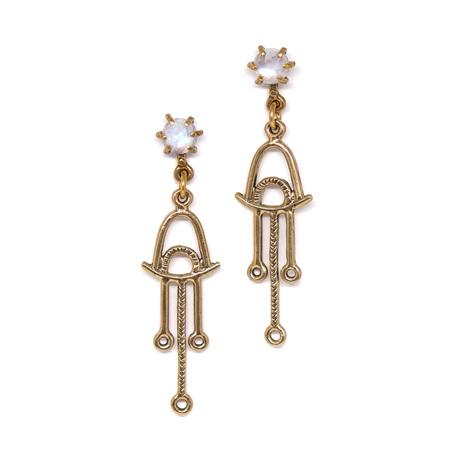 Laurel Hill Jewelry Callisto Earrings - Moonstone